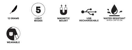 Knog Plus Light specificaties