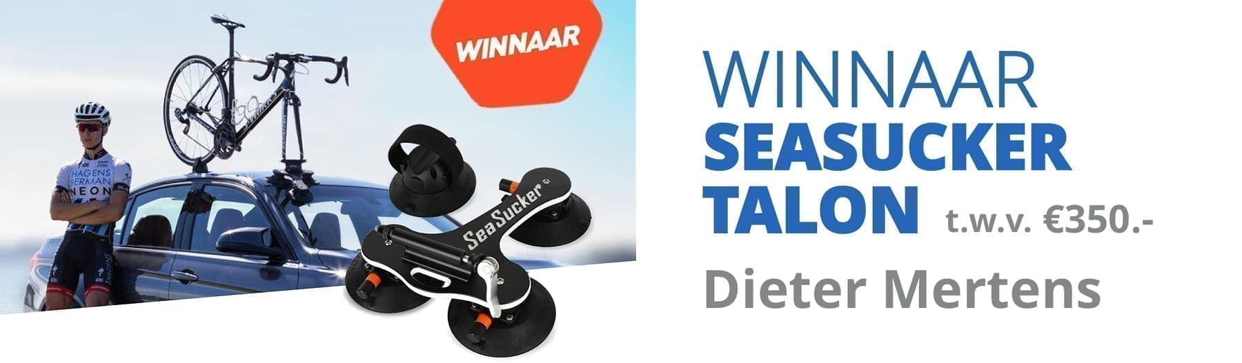 Seasucker Talon – Winnaar Actie T.W.V. € 350,00 !