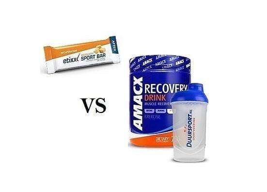Hersteldrank VS Recovery Bar
