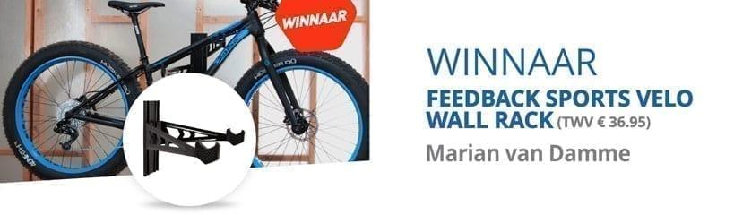Velo Wall Rack t.w.v. €36,95 Win Actie!