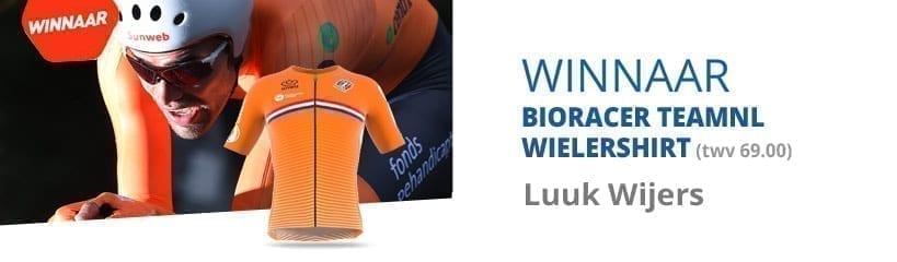 Bioracer TeamNL Wielershirt Winactie | gesloten