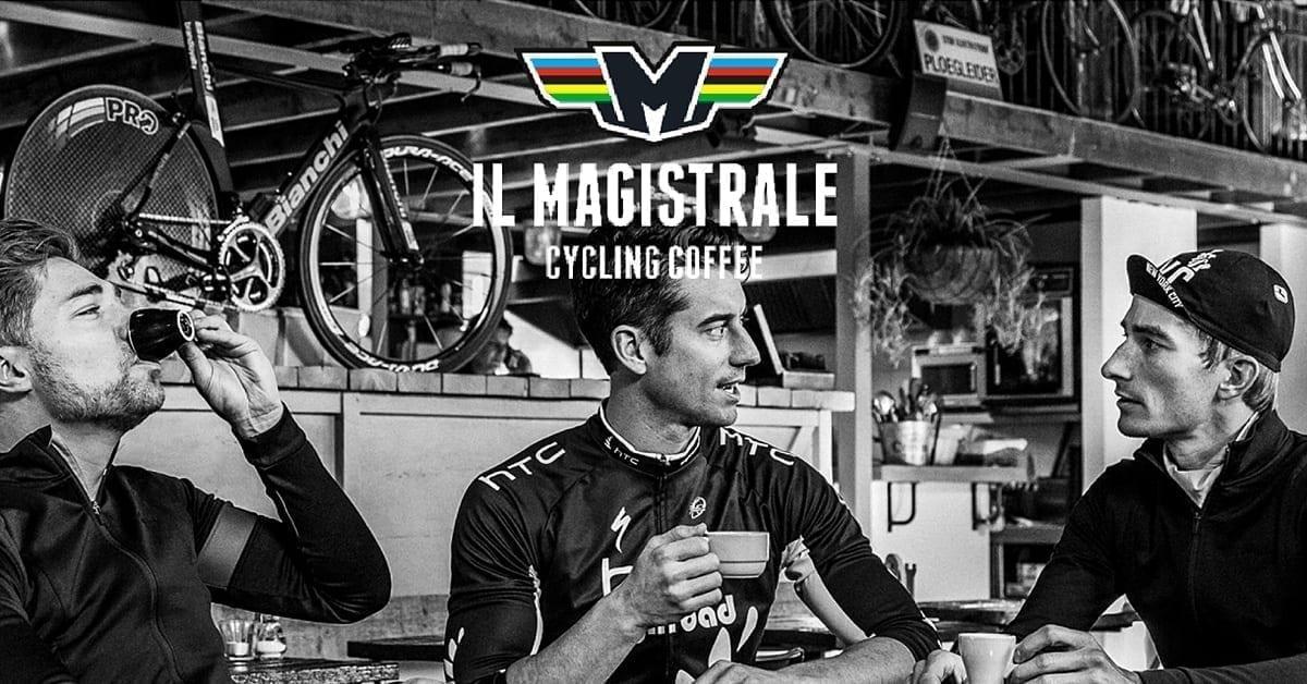 Koffie en fietsen