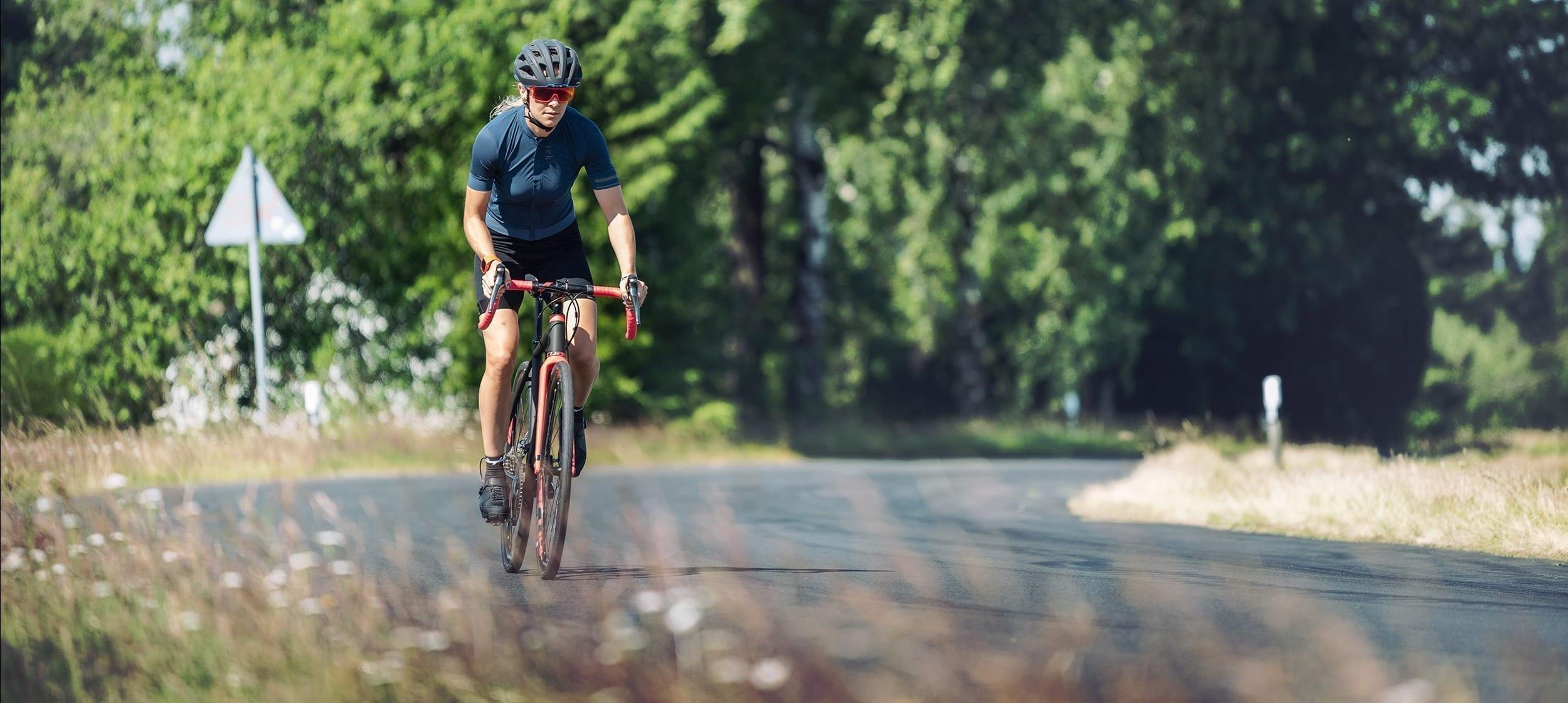 Energy gels tijdens een triathlon