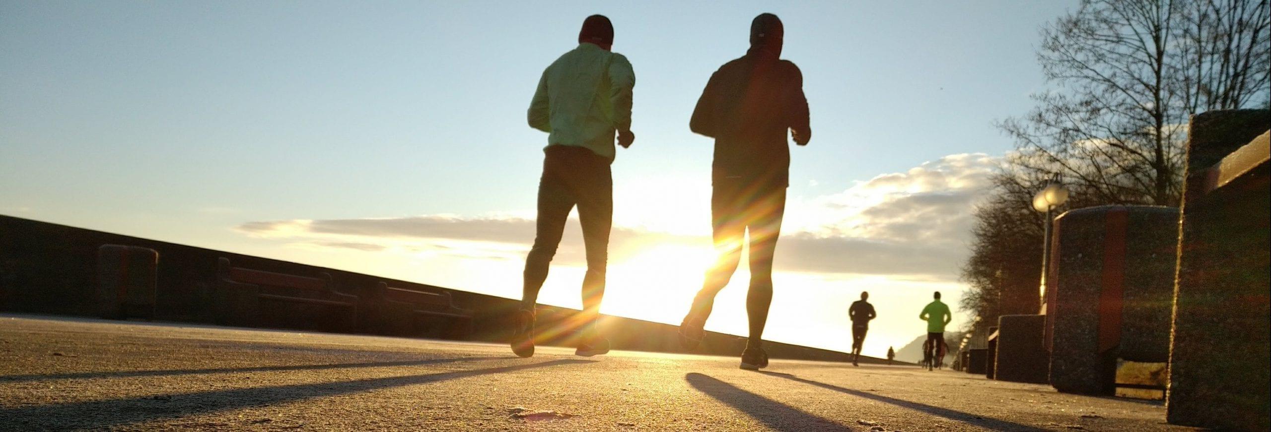 Herstel na een marathon