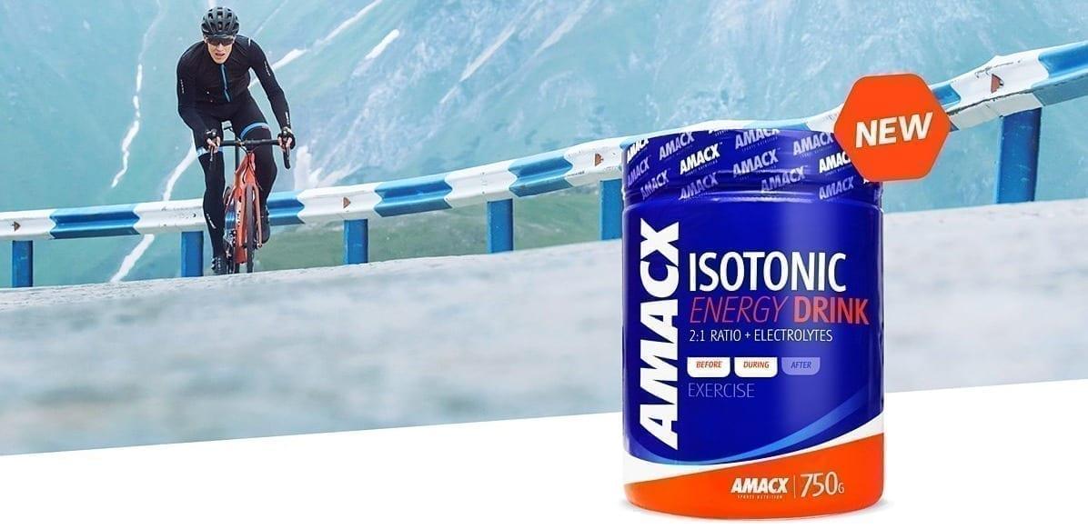 Sportdrink, Isotonic Energy Drink van Amacx!