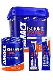 amacx mega deal, sportdrank, hersteldrank, recovery drink, energiegels, energy gels, energierepen, energy bars