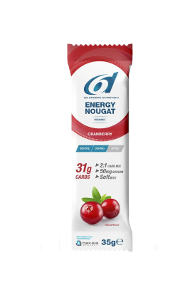 6d energy nougat cranberry